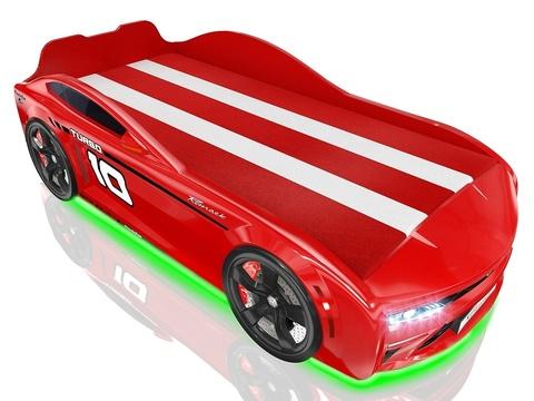 Кровать-машинка Romack Energy Красная