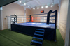 Ринг боксерский на помосте, разборный, помост 7.8х7.8м, высота 1м, боевая зона 6.1х6.1м.