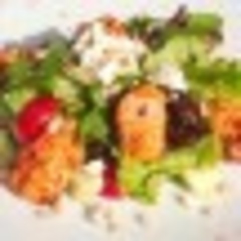 Салат з курячої грудки гриль