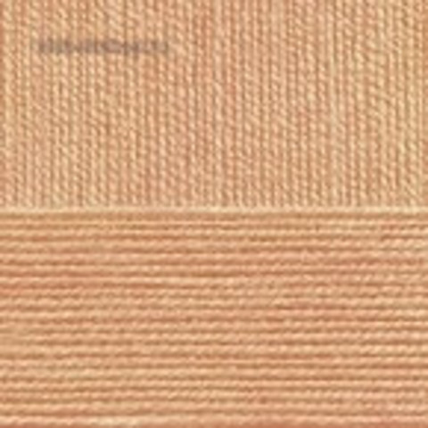 Пряжа Бисерная 124 песочный Пехорка, фото