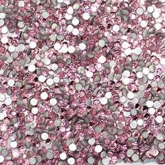 Стразы стекло, ss4 - 2 мм Св.-Розовые 50 шт.