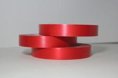 Лента простая (2см*50м) Гладкая без тиснения Красная