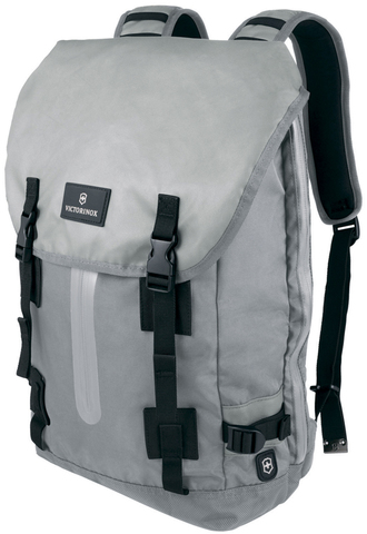 Рюкзак Victorinox Altmont 3.0, Flapover Laptop Backpack 17'', серый, 32x13x48 см, 19 л