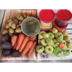 Корзина №1 (овощи+соленья), 10-11 кг