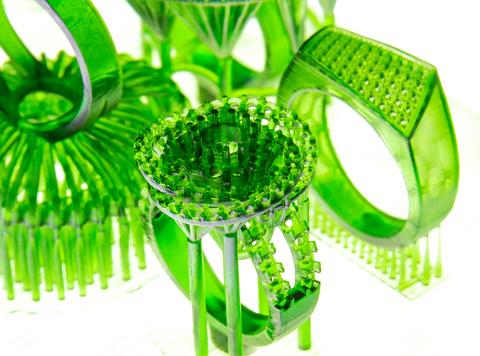 Фотополимерная смола FlashForge Castable, зеленая