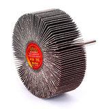 Круг MESSER шлифовальный лепестковый с оправкой (на шпильке) 80х30х6  #120