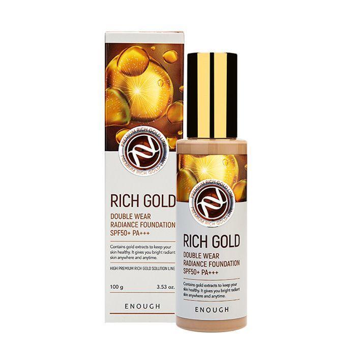Тональные основы Тональный крем ENOUGH Rich Gold Double Wear Radiance Foundation #21 100 ml bfb1d7798336cf81055c3f993360fbc6.jpg
