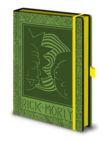 Записная книжка Rick and Morty