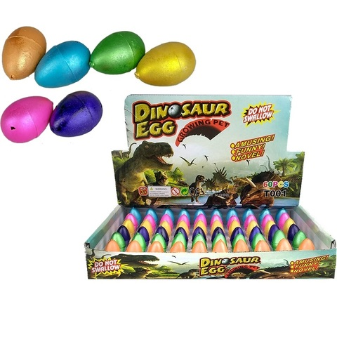 Растущее яйцо динозавр (мини) 1кор*1бл*60шт