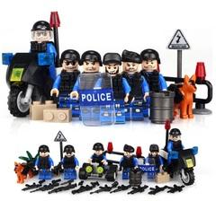 Минифигурки Полиция SWAT серия 094