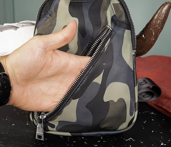 BAG488-3 Мужская сумка с одной лямкой через плечо фото 10