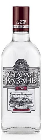 Водка Старая Казань Люкс серебряная фильтрация 0,5л