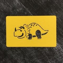 Динозавр №6 Трицератопс