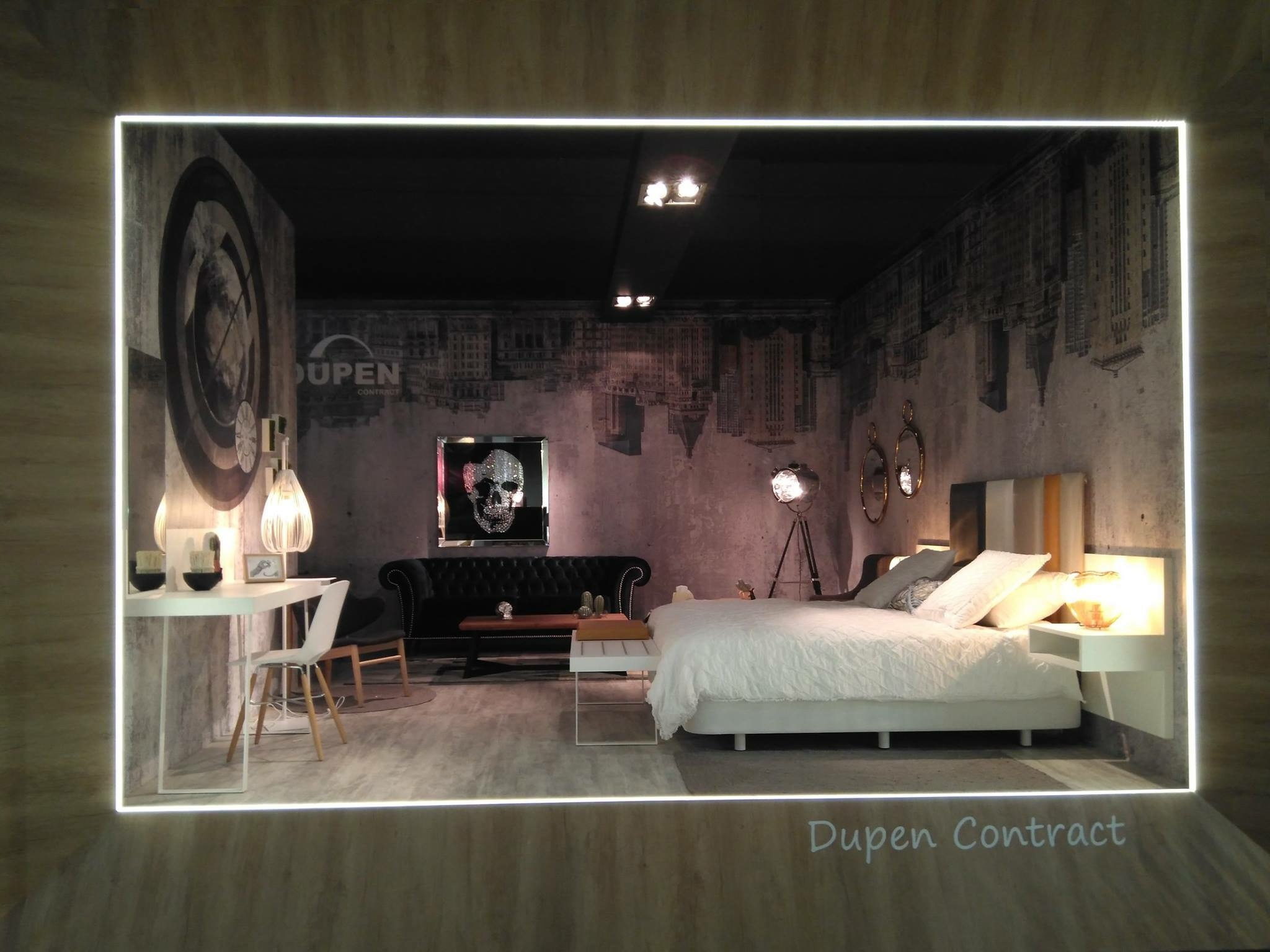 Зеркало DUPEN (Дюпен) E-121