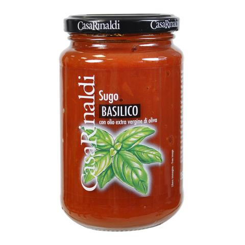 Соус Casa Rinaldi томатный с базиликом 350г