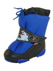 Сапоги Snowmen голубые