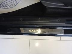 Накладки на пороги Lada Kalina