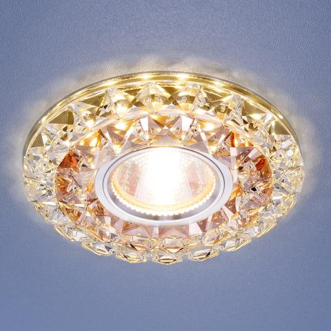 Встраиваемый точечный светильник со светодиодной подсветкой 2170 MR16 GC CL тонированный прозрачный
