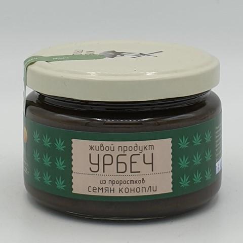 Урбеч из проростков семян конопли ЖИВОЙ ПРОДУКТ, 225 гр