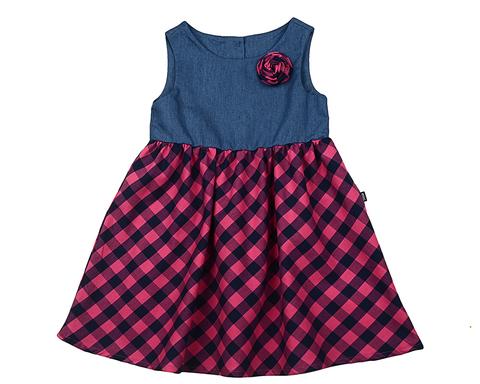Платье в клеточку Mini-Maxi (арт.UD4422(1))