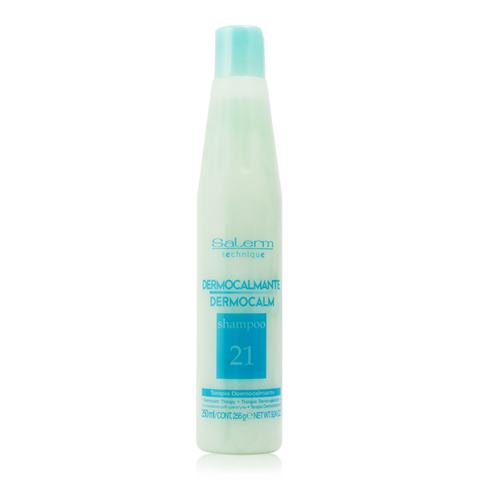 Шампунь успокаивающий Dermocalmante shampoo Salerm,1000 мл.