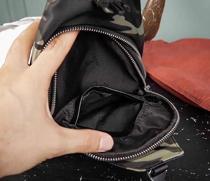 BAG488-3 Мужская сумка с одной лямкой через плечо фото 12