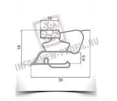 Уплотнитель 47*57 см для холодильника Индезит TA18R024 (морозильная камера) Профиль 022