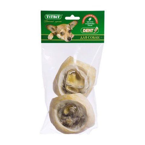 Titbit ухо говяжье внутр. - мягкая упаковка