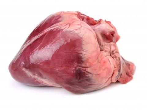 Сердце свиное 100 гр.