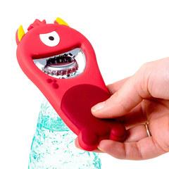 Открывалка Monster красная магнитная, фото 3