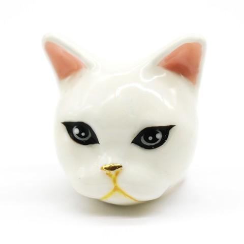 Кольцо Кошка Плюб