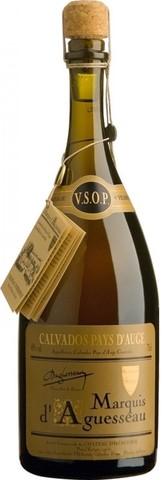 Кальвадос Marquis d'Aguesseau, VSOP, 4 old, 0.7 л