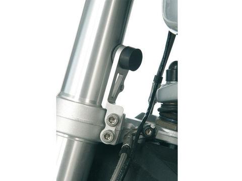 Ограничитель поворота рулевой колонки BMW R1200GS/GSA серебро