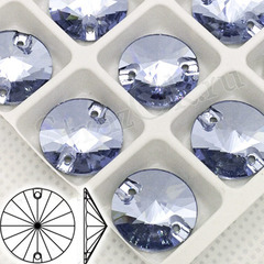 Купите новые модные пришивные стразы Rivoli Lavander голубые