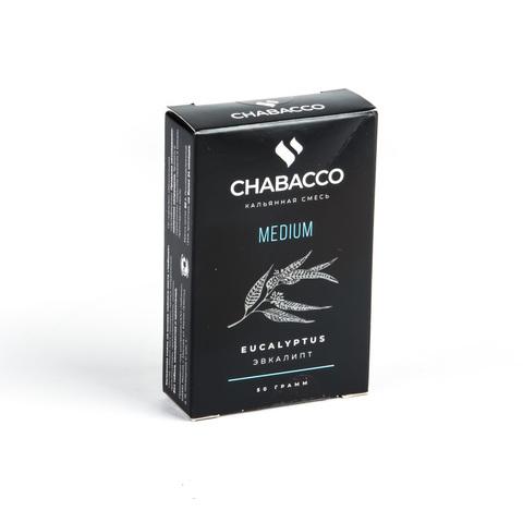 Кальянная смесь Chabacco - Eucalyptus (Эвкалипт) 50 г