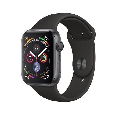 Часы Apple Watch Series 5 GPS 40mm Aluminum Case with Sport Band Серый Космос/Черный