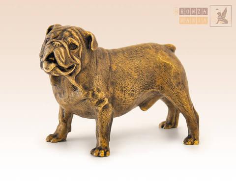 статуэтка Собака Бульдог английский