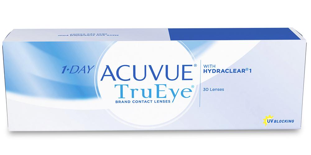 1-Day Acuvue TruEye (30) (+5 шт. в подарок)