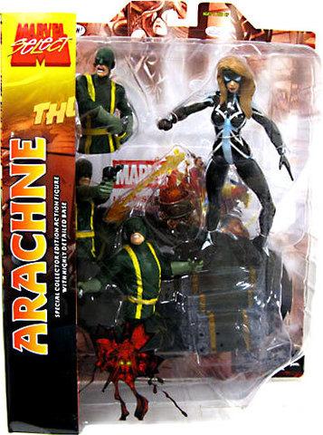 Марвел Селект фигурка Женщина-паук Джулия Карпентер — Marvel Select Omega Flight Arachne