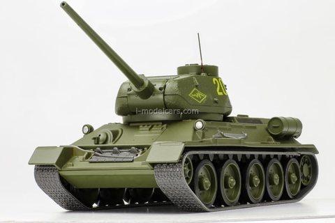 Tank T-34-85 1:43 DeAgostini Tanks. Legends Patriotic armored vehicles #9
