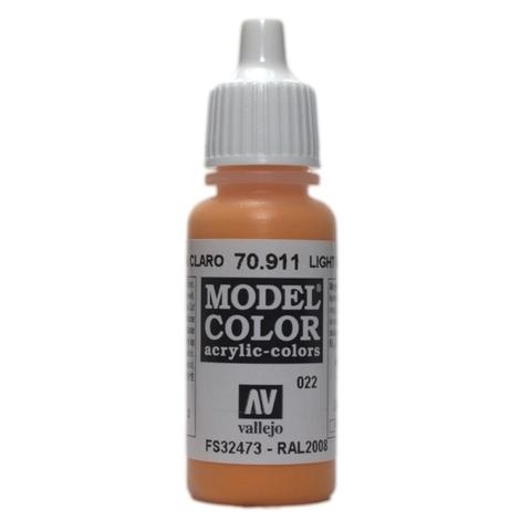 Model Color Light Orange 17 ml.
