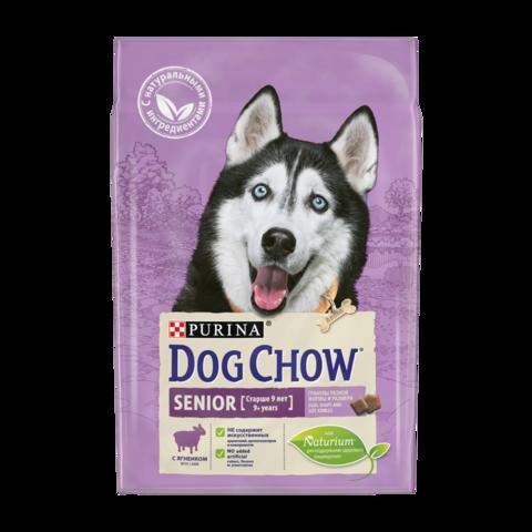 Dog Chow Senior Сухой корм для собак старше 9 лет с Ягненком