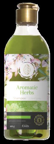 Romax Aromatic Herbs Шампунь Тубероза и Яблоко для сухих и ломких волос 400г