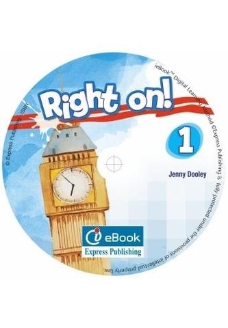RIGHT ON! 1 Iebook - интерактивный учебник на диске.
