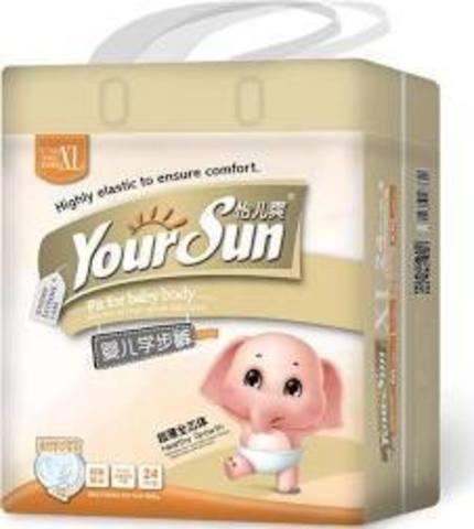 Трусики Yoursun, 12-16 кг (XL) мини упаковка