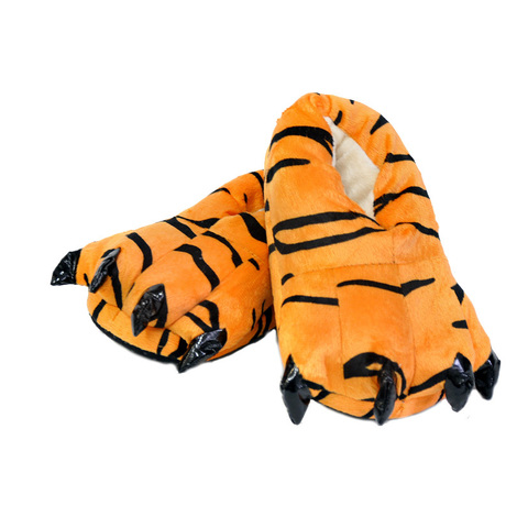 Тапочки царапки тигра