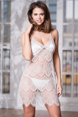 Сорочка Laguna Deluxe 2130 White Mia-Amore