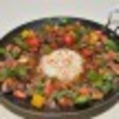 Сковорідка з бараниною
