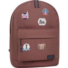 Рюкзак Bagland Молодежный W/R 17 л. 299 коричневый (00533662 Ш)