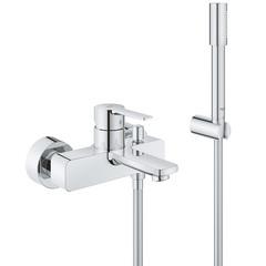 Смеситель для ванны с душевым набором Grohe Lineare New 33850001 фото